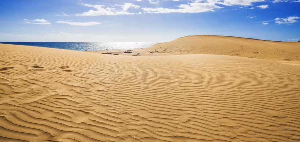 Dune de sable célèbre