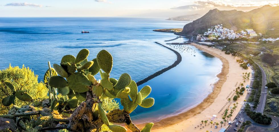 Vacances balnéaires à Playa de Las Teresitas à Santa Cruz de Tenerife