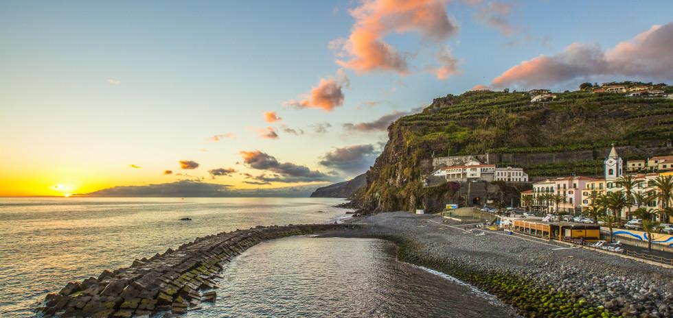 Blick auf Ponta do Sol