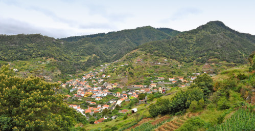 Vue sur Machico