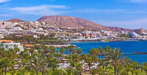 Vue sur Playa de las Americas