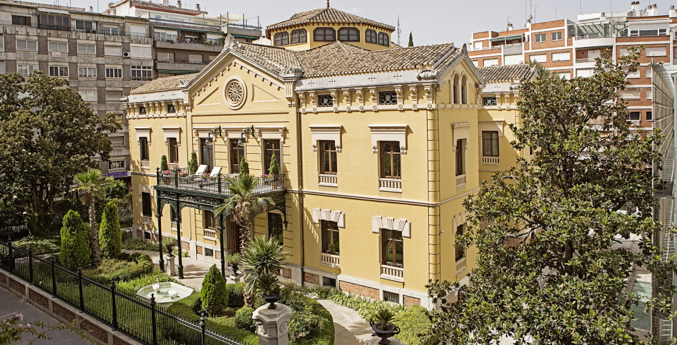 Antiker Hotelteil