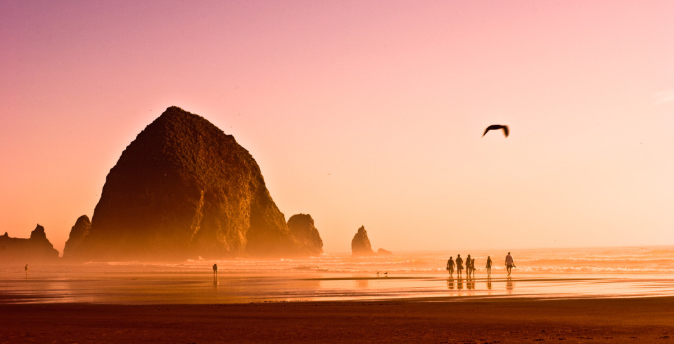 Haystack Rock à Cannon Beach