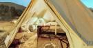 Campement luxueux dans le désert