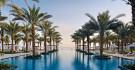 Piscine de l'hôtel Al Bustan Palace