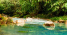 Rivière et cascade Rio Celeste