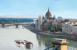 MS Primadonna, circuit à vélo et en bateau Passau-Budapest-Passau