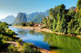 Asien - Charmante Mekong Flussfahrt