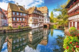 L'Alsace, randonnée dans un paysage montagneux pittoresque