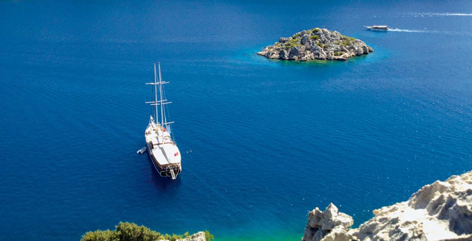 Bild 1 - Blaue Reise, ab/bis Antalya