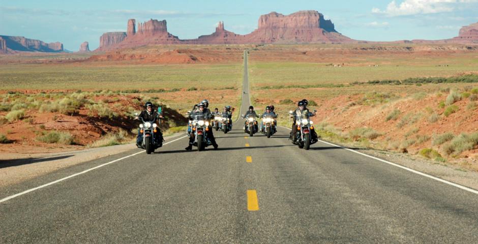 Bild 1 - Route 66 mit dem Motorrad
