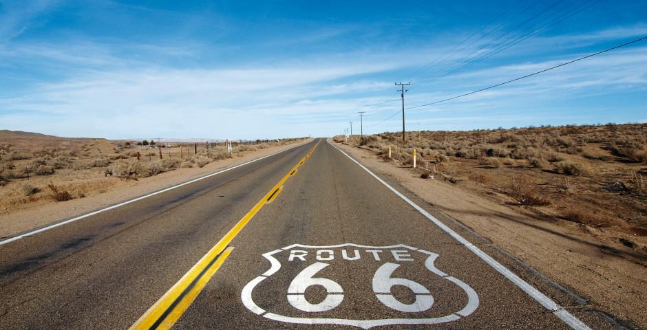 Bild 3 - Route 66 mit dem Motorrad