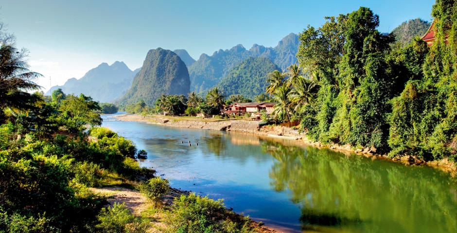 Bild 1 - Asien - Charmante Mekong Flussfahrt