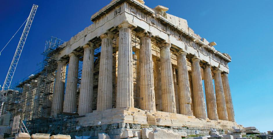 Bild 1 - Athen und Peloponnes