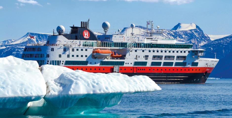 Bild 1 - Expedition Hurtigruten - Spektakuläres Nordpolarmeer
