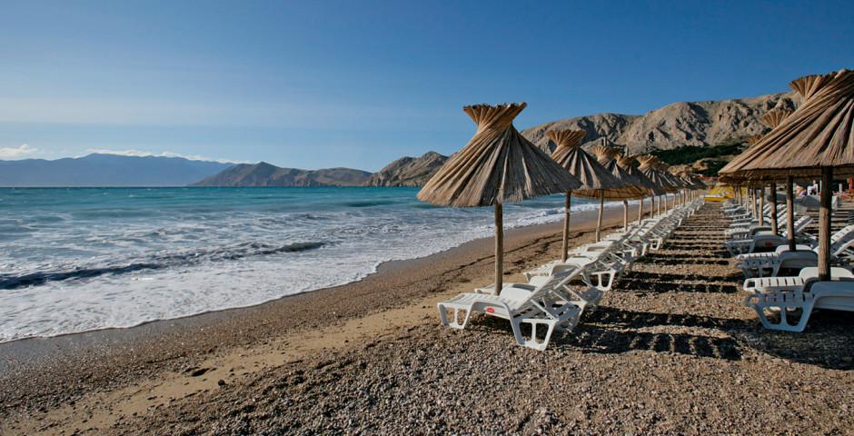 Strand Insel Krk - Kroatien