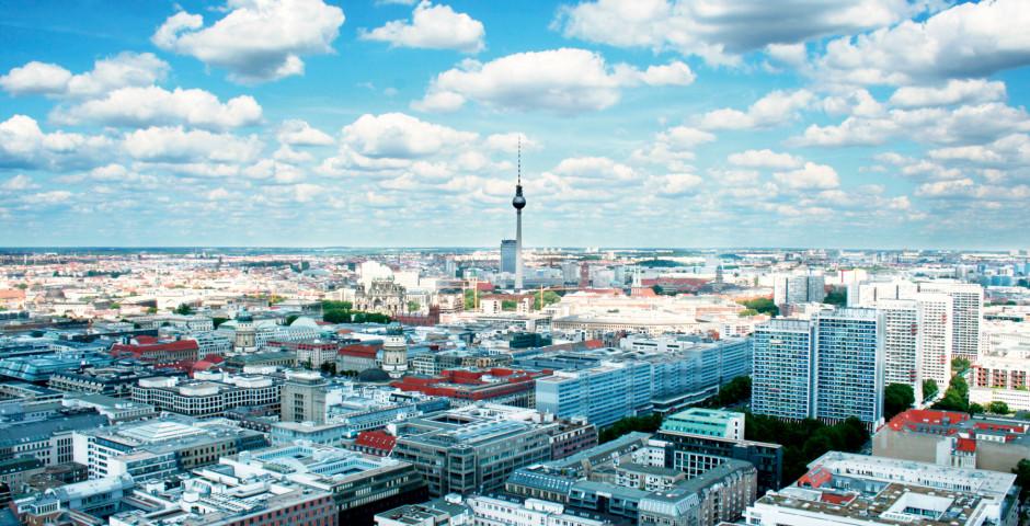 Luftaufnahme Berlin