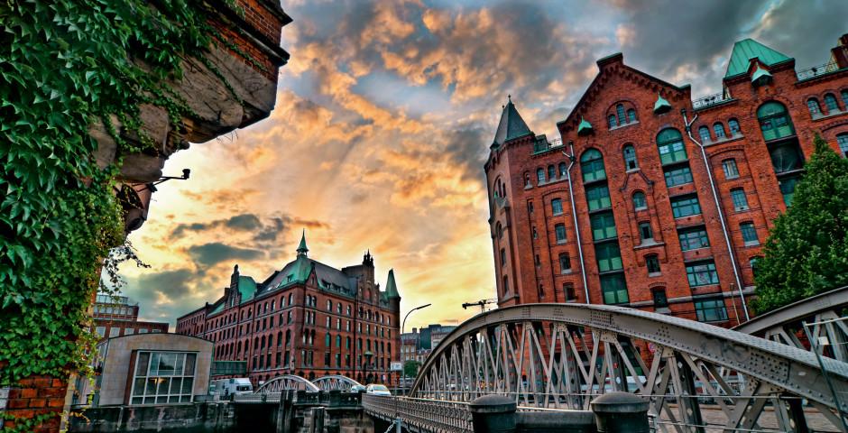 Speicherstadt, Hamburg - Deutschland