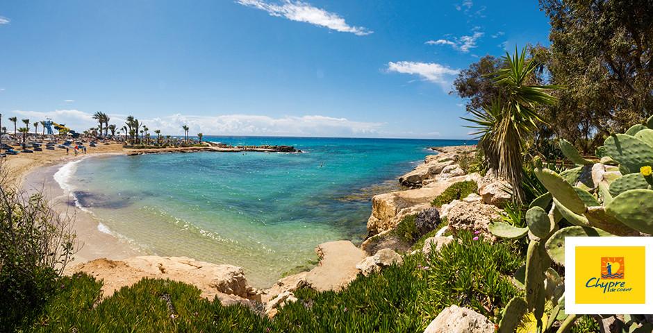Petite baie à Nissi Beach à Ayia Napa