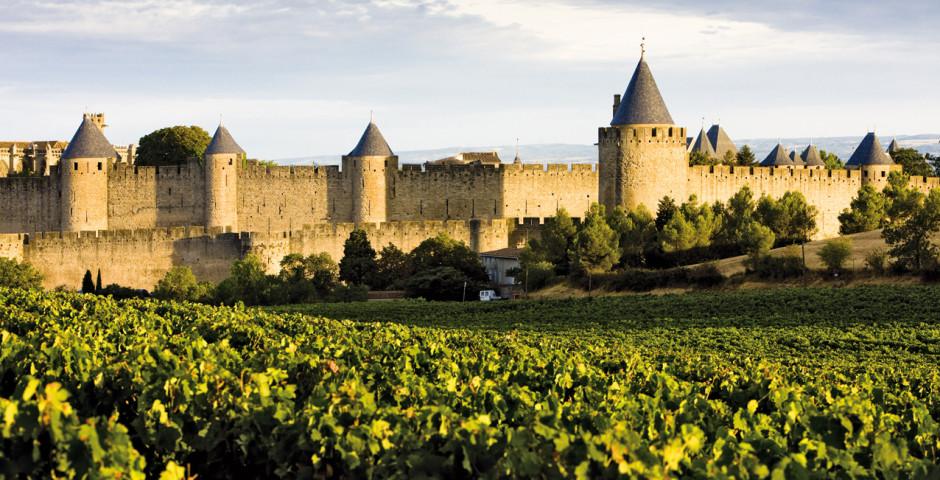 Cité von Carcassonne - Frankreich