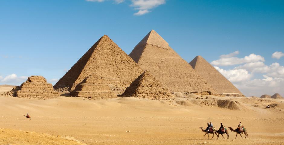 Pyramides de Gizeh - Égypte