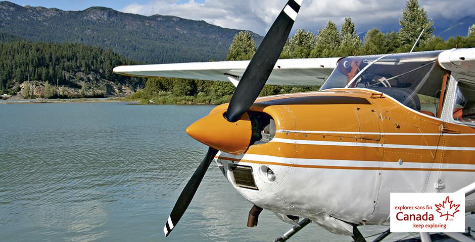 Propellermaschine für Rundflüge