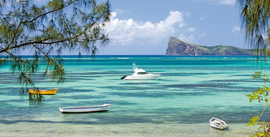Boote in einer Bucht, Mauritius - Mauritius