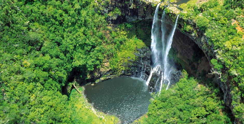 Chamarel Wasserfall, Mauritius - Mauritius