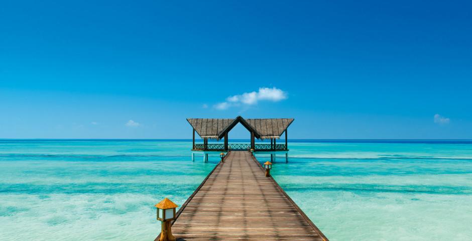 Türkisblaues Meer - Malediven