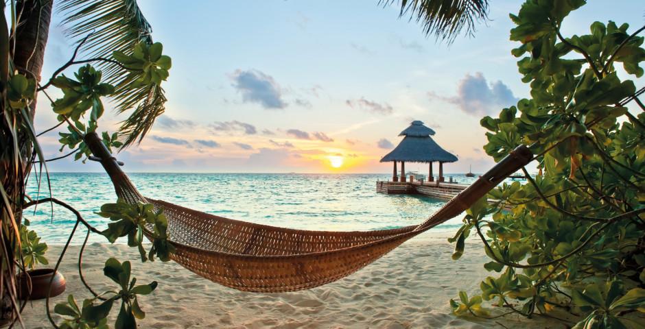 Hängematte - entspannen auf den Malediven - Malediven