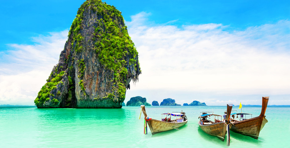 Türkisfarbenes Wasser - Thailand