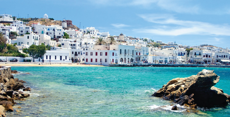 Mykonos, Griechenland - Griechenland