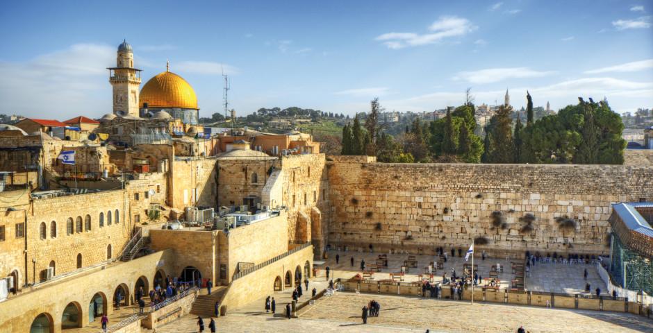 Klagemauer, Jerusalem - Israel