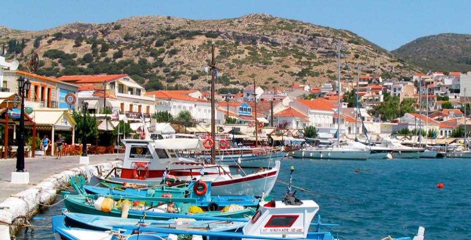 Anlegestelle von Pythagorion, Samos