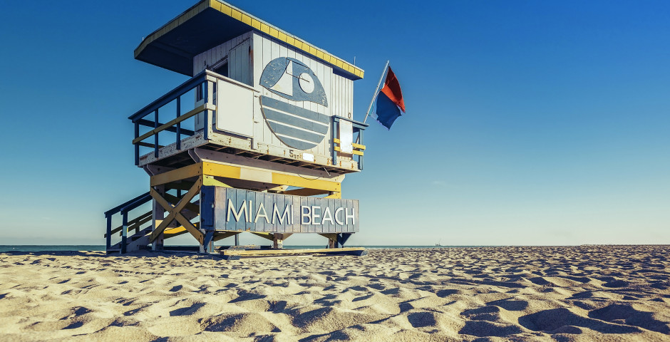 Lifeguard Hütte, Miami Beach