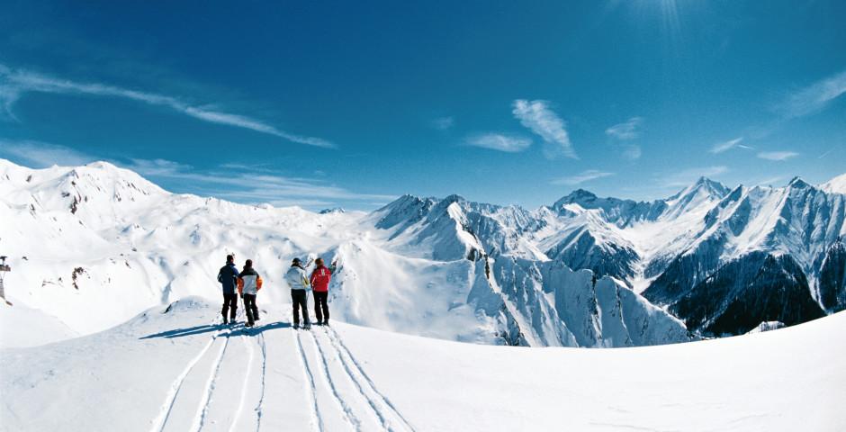 Skigebiet Samnaun - Graubünden