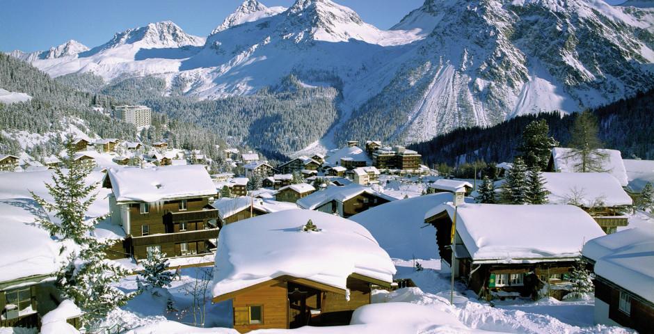 Arosa im Winter - Graubünden