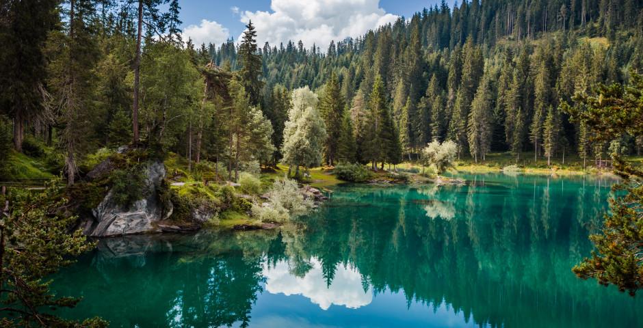 Caumasee in der Gemeinde Flims - Graubünden
