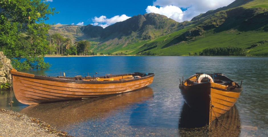Lac idyllique, Angleterre du Nord