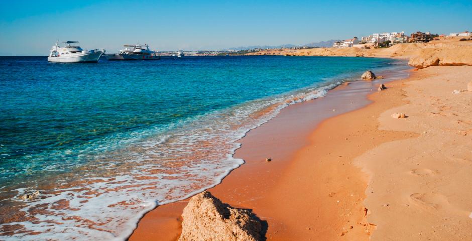 Plage de Sharm el-Sheikh, Egypte
