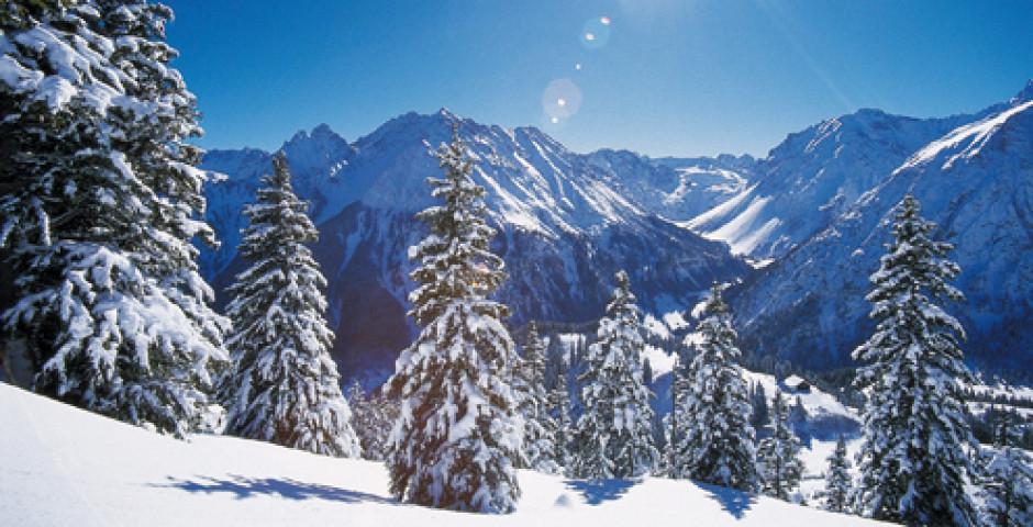 Winterlandschaft im Brandnertal