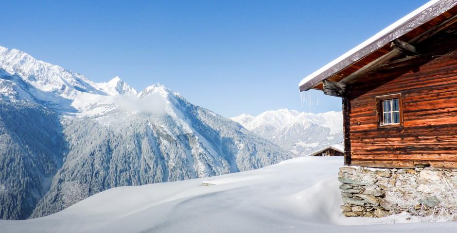 Zillertal im Winter - Zillertal