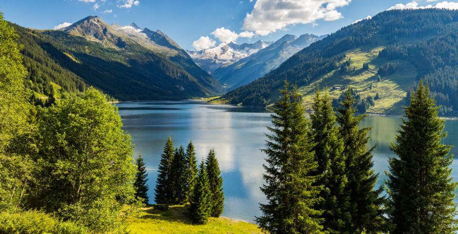 Lac de barrage Durlassboden à Zillertal - Zillertal