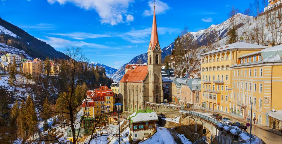 Das Dorf Bad Gastein - Gasteinertal