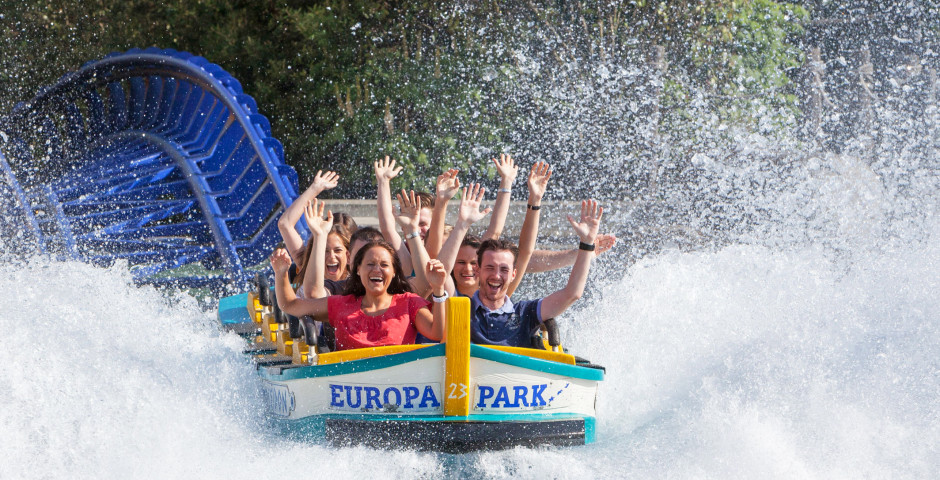 Wasserachterbahn im Europa-Park