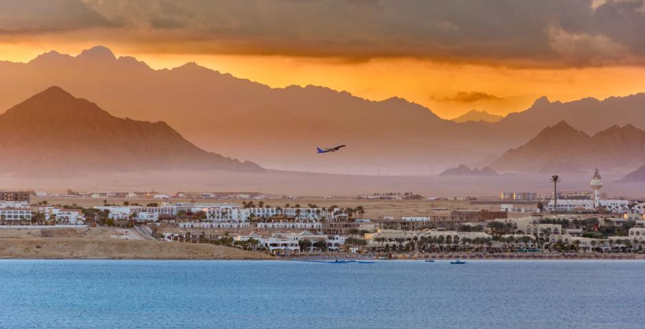 Blick auf «Sharm» und das Hinterland - Sharm el-Sheikh