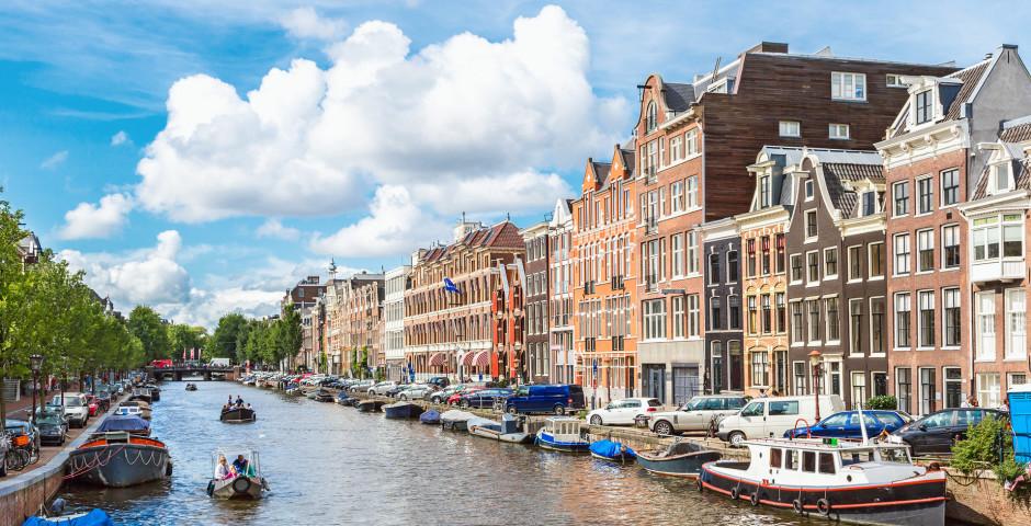 Kanal in Amsterdam - Amsterdam