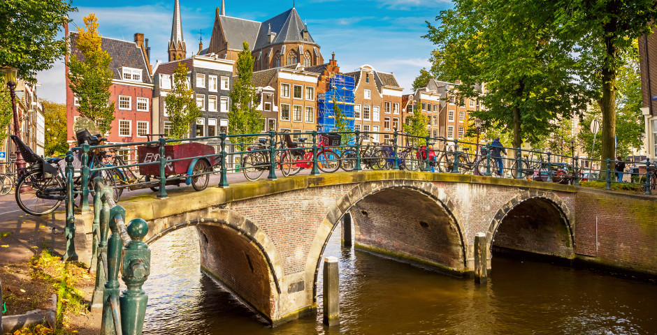Brücke in Amsterdam - Amsterdam