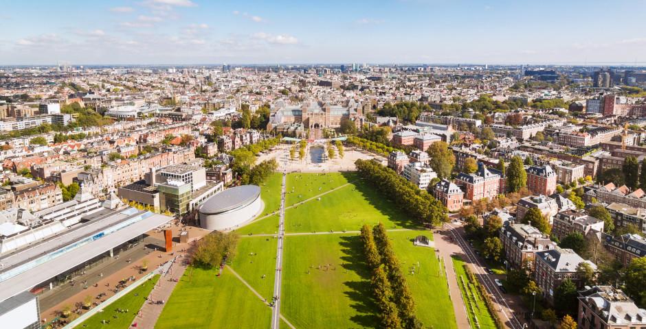 Blick auf den Museumsplein - Amsterdam