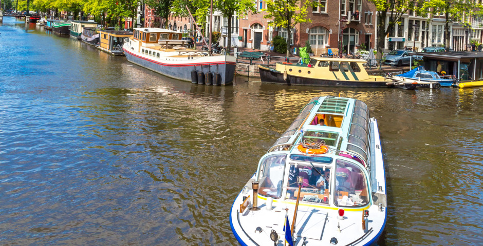 Promenade en bateau - Amsterdam
